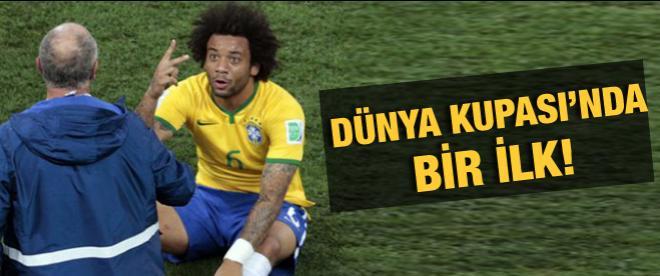 Dünya Kupası'nda bir ilk!