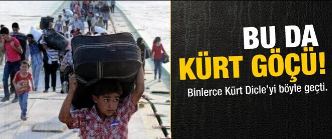 Kürt göçü!