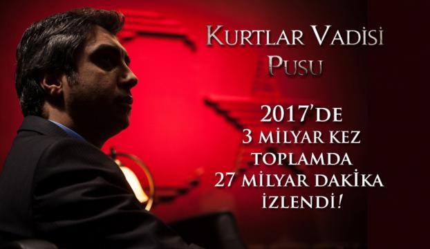 Kurtlar Vadisi Pusu'dan inanılmaz Youtube rekoru