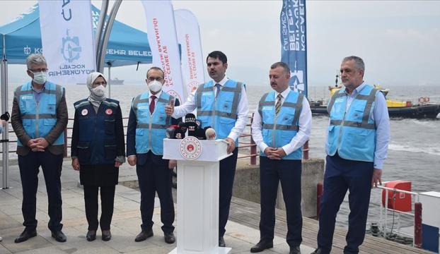 Bakan Kurum: Bugüne kadar 5 bin 306 metreküp müsilaj toplandı