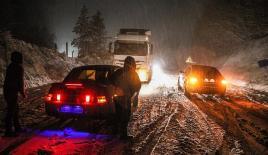 Kütahya'da yoğun kar yağışı
