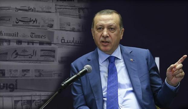 Cumhurbaşkanı Erdoğanın röportajı Kuveyt basınında