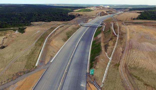 Kuzey Marmara Otoyolu Projesinde bir bölüm daha trafiğe açıldı