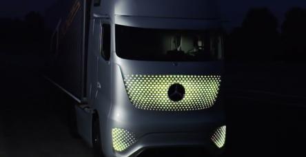 Mercedes'den geleceğin kamyonu