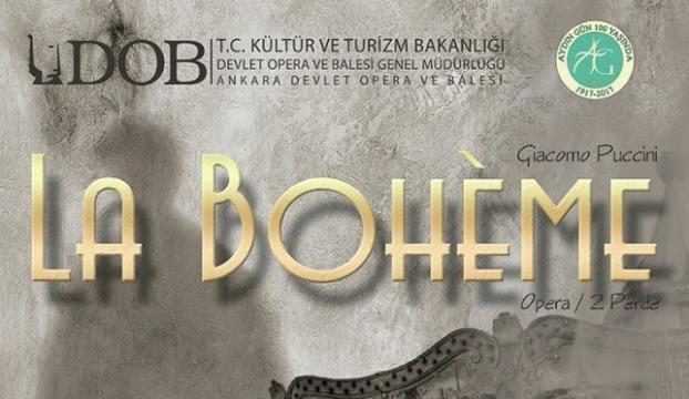 """DOB """"La Boheme"""" operasını beğeniye sunacak"""