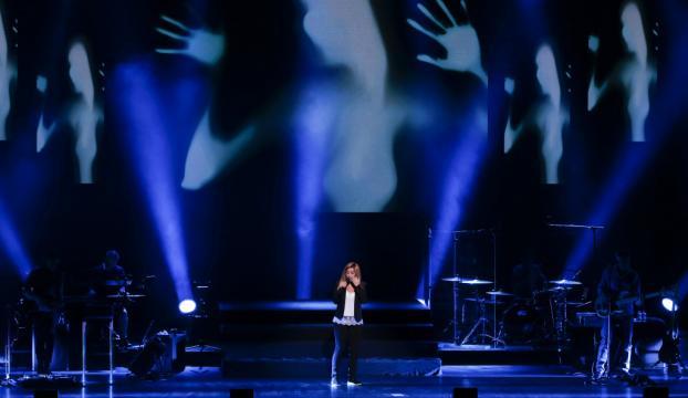 Lara Fabian İstanbulda konser verdi