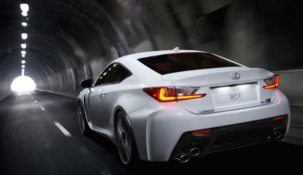 Lexusun RC F modeli yarış otomobili oldu