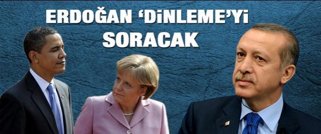 NATO zirvesinde Obama ve Merkel'e 'dinleme' sorusu