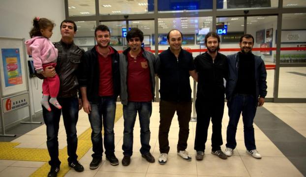 9 Türk vatandaşımız serbest