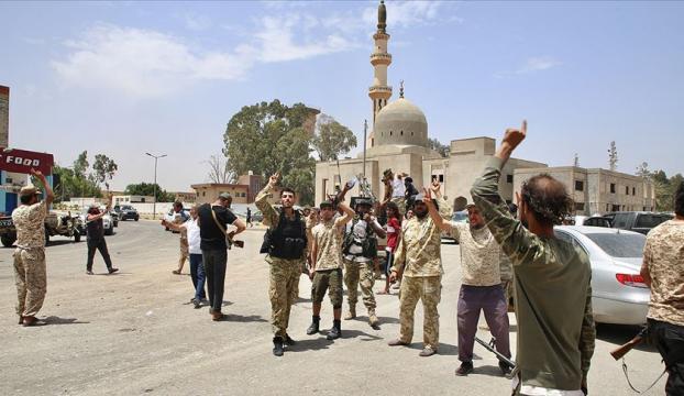 Trablusun tamamını Hafter milislerinden kurtaran Libya ordusu, Terhune vilayetini kuşatıyor