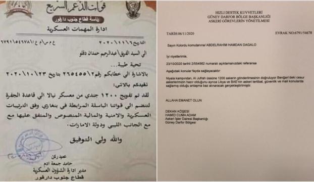 Libyadaki gizli pazarlığı ortaya çıkaran mektup