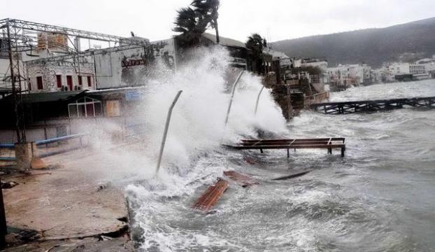 İstanbul başta olmak üzere 20 ilde şiddetli Lodos uyarısı