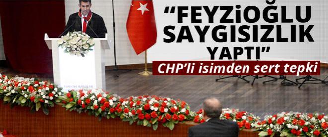 CHP'li isimden Feyzioğlu'na tepki: Saygısızlık yaptı