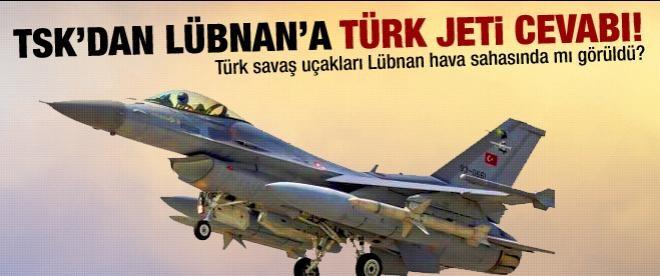 TSK'dan savaş uçağı açıklaması