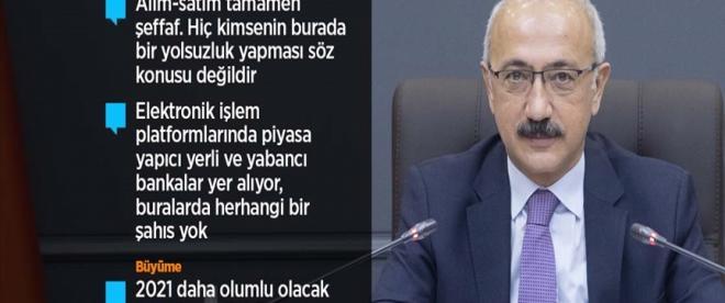 Hazine ve Maliye Bakanı Elvan: İlk çeyrekte yüzde 5, ikinci çeyrekte çift rakamlı bir büyüme söz konusu olacak