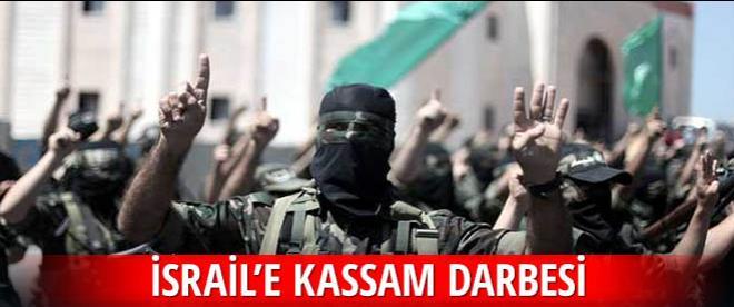 İsrail'e Kassam darbesi