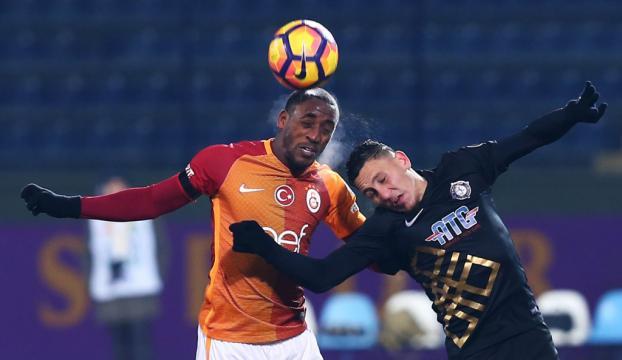 Galatasaray Ankarada 2 puan bıraktı