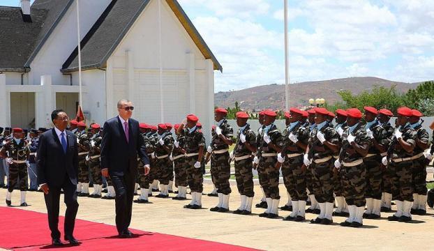 Erdoğan Madagaskarda