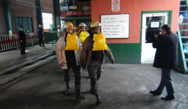 Maden kazası tatbikatı gerçeği aratmadı