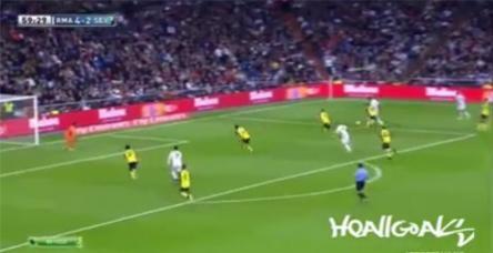 Real Madrid 7 - 3 Sevilla