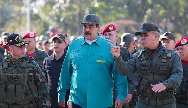 Madurodan askerlere birlik ve disiplin talimatı