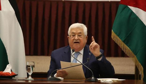 """Filistin Devlet Başkanı Abbas: """"İsrail ve ABD ile yapılan anlaşmalara bağlı kalmayacağız"""""""