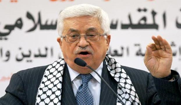Filistin Devlet Başkanı Abbas Almanyada