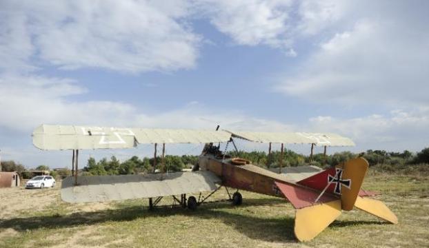 Maket uçaklara büyük ilgi