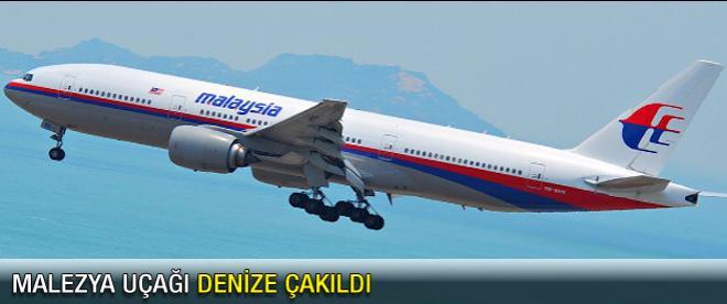 Malezya uçağı denize çakıldı