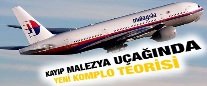 Malezya uçağının kaybolmasına ilişkin yeni komplo teorisi