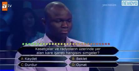 testKim milyoner olmak isterde Mali'li yarışmacı!