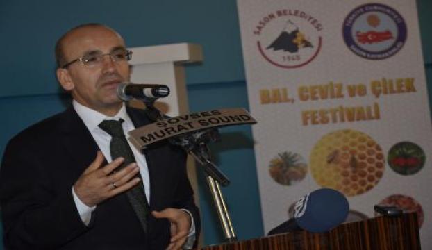 Maliye Bakanı Şimşek ve TOBB Başkanı Hisarlıklıoğlu Batmanda