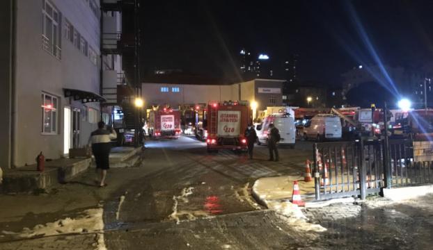 Maltepede trafo merkezinde patlama