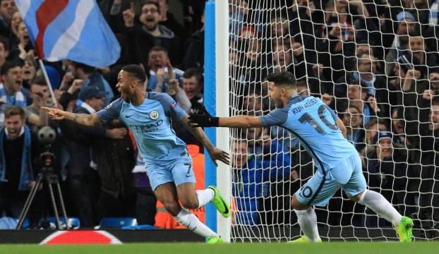 Manchester City - Monaco 5-3
