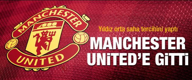 Manchester United'a İspanyol orta saha