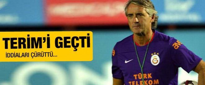 Mancini iddiaları çürüttü! Terim'i geçti!