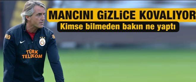 Mancini harekete geçti