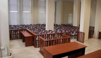 Manisa'da FETÖ davaları için 200 kişilik salon