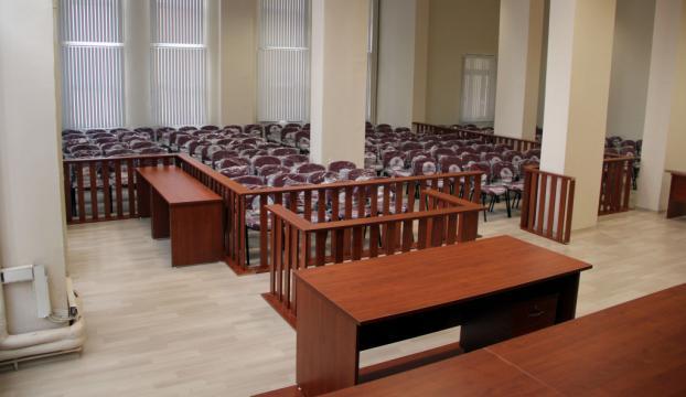Manisada FETÖ davaları için 200 kişilik salon