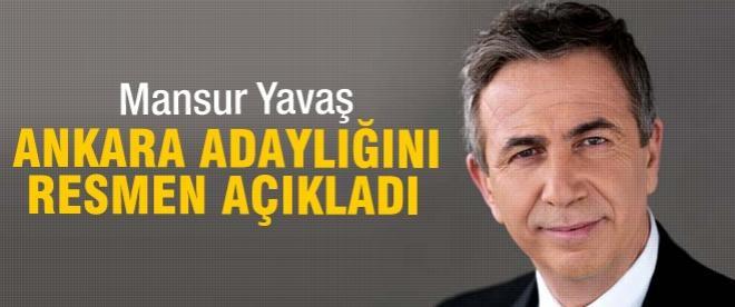 Mansur Yavaş, CHP adaylığını açıkladı
