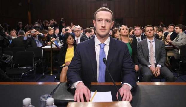 Facebookun Kurucusu Zuckerberg ABD Senatosunda ifade verdi