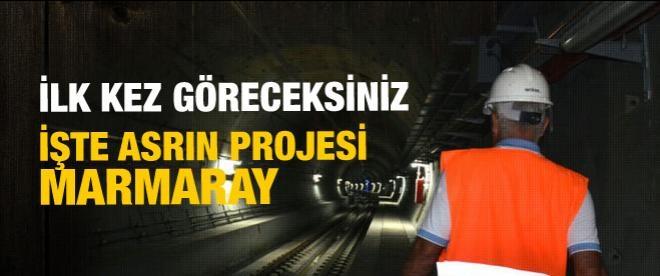 Asrın projesi Marmaray