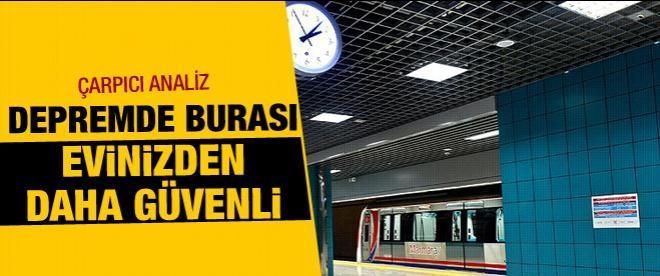 Bakan Yıldırım: Marmaray, büyük depremde evinizden daha güvenli
