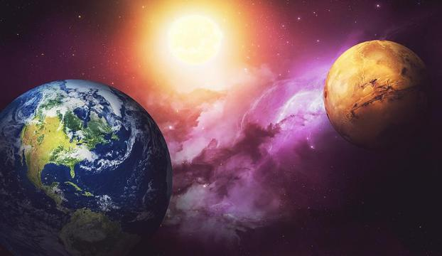 Mars, Dünyaya en yakın konumda