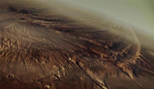 Marsta tsunami sonucu oluşan krater bulundu