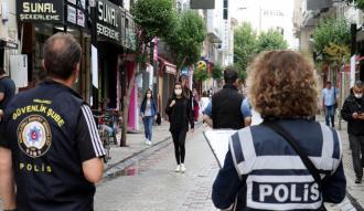 """Çok yüksek riskli illerden Edirne'de merkezdeki caddelerde """"4 metrekareye 1 kişi"""" kuralı uygulanacak"""