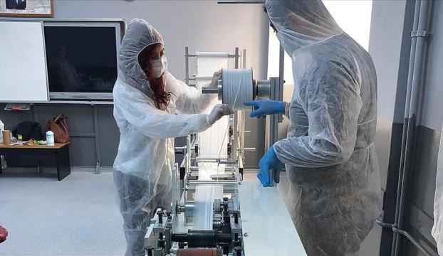 MEB, cerrahi maske makinesi üretti