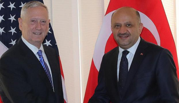 Milli Savunma Bakanı Işık, ABD Savunma Bakanı Mattis ile görüştü