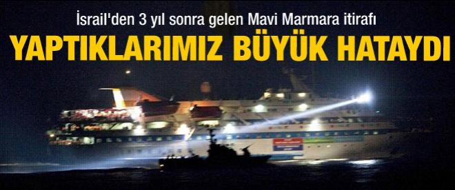 İsrailli emekli generalin Mavi Marmara itirafı