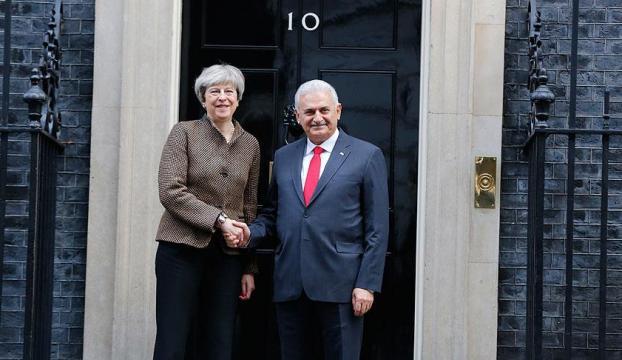 Başbakan Yıldırım ile İngiltere Başbakanı May görüştü